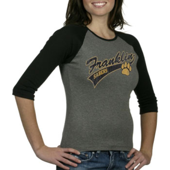 Retro Women's Baseball T L2000VW