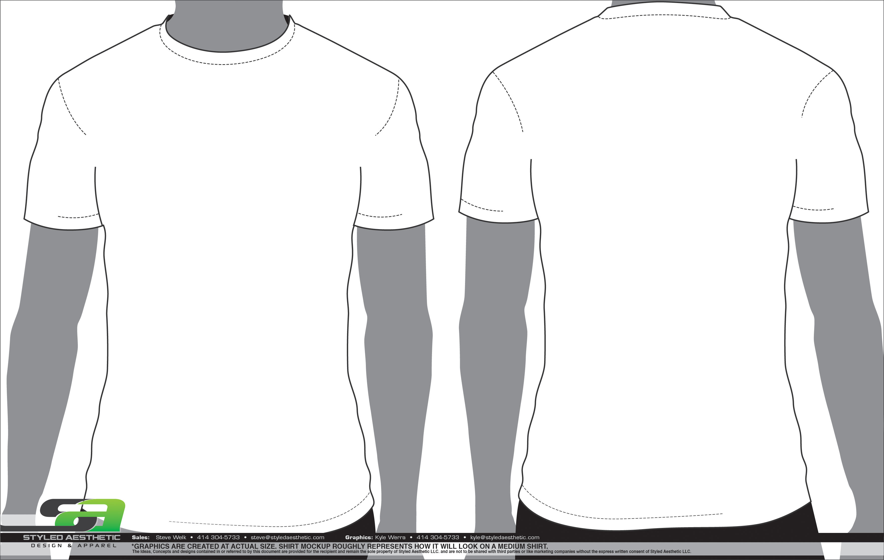 Templates styled aesthetic for Clothing templates for illustrator